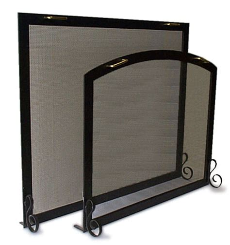 Rumford Fireplace Screens by Screens