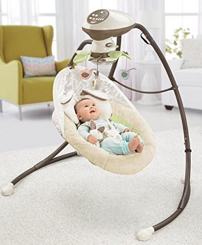 snugabunny baby swing fisher price snugabunny cradle n swing with smart swing