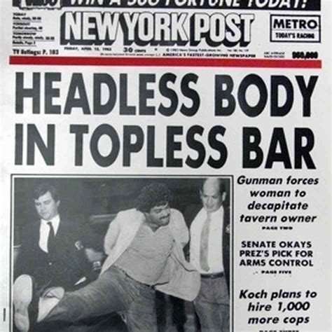 n y post axes headless body in bar headline