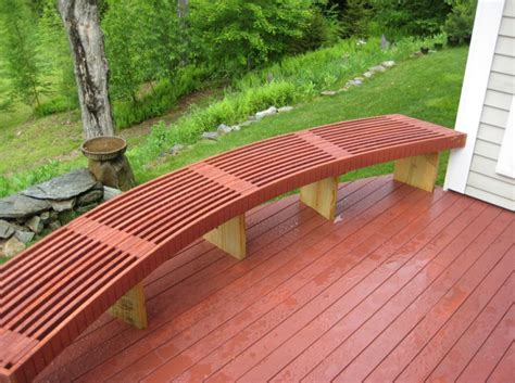 how to make a curved bench how to build a curved bench 28 images 17 best images