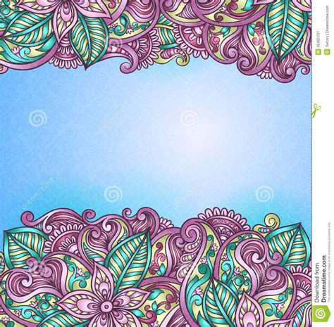 Wedding Banner Patterns by Vintage Pattern Stock Vector Image Of Decoration Ornate