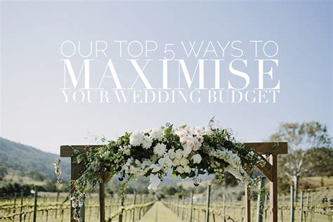 budget wedding reception venues brisbane our top 5 gold coast wedding venues to check out