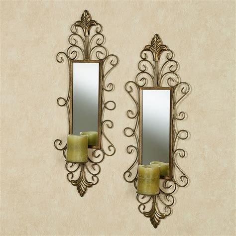candle wall sconces glamorous 20 metal wall sconces for candles design ideas