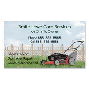 lawn mowing business cards lawn yard maintenance servies business card business