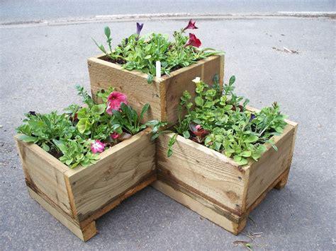 Corner wooden garden planter wood trough l shaped timber herbs planter handmade ebay