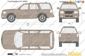 the blueprints vector drawing ford expedition xlt