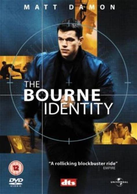 The Bourne Identity the bourne identity dvd zavvi