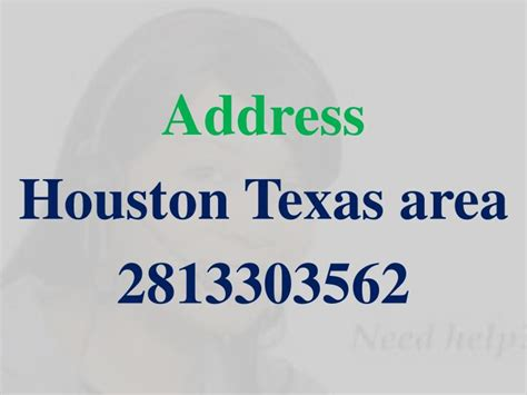 Hou Address Hou Address 28 Images Office In Houston Mail