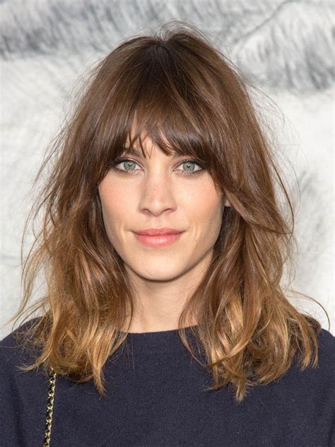 how to fix a shag cut the 25 best ideas about short hair long bangs on