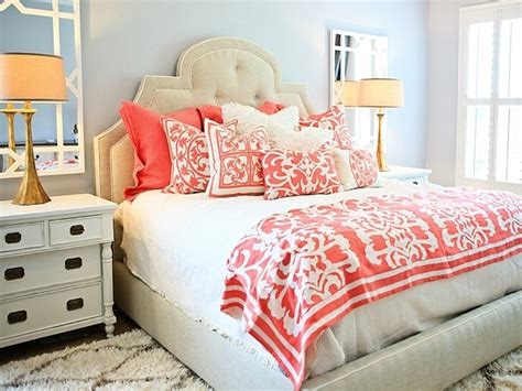 bedding for gray bedroom light blue and coral bedding - Light Blue And Coral Bedroom