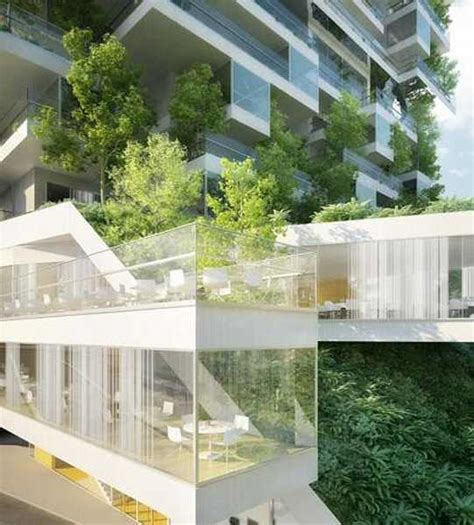 sustainable apartment design green building in rural urban style with spacious