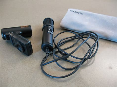 Microphone Condensor Krezt Ecm 3188 sony ecm 909a stereo condensor microphone reverb