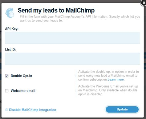 mailchimp confirm subscription template how to set up mailchimp s opt in feature lander