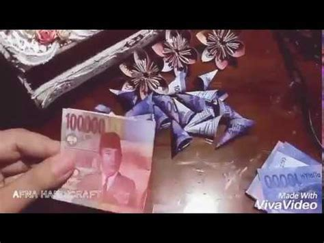 tutorial membuat buket bunga palsu tutorial bunga kertas bunga uang palsu youtube
