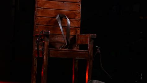 electric chair stock footage