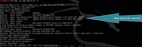 nmap iphone tutorial open port scanning and os detection with nmap
