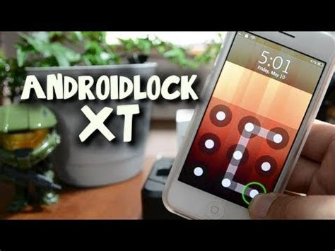 forgot android lock xt pattern iphone androidlock xt android style pattern passcode tweak