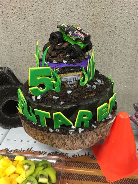 grave digger truck birthday supplies the 25 best grave digger cake ideas on easy