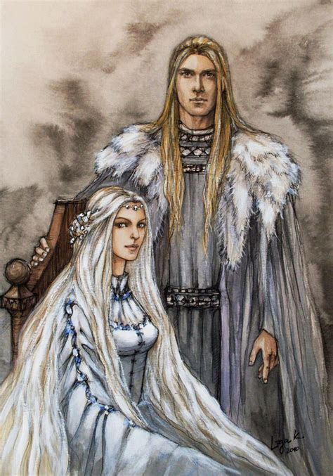 Noblassse Lord Of Vire finarfin lotr parents and royals