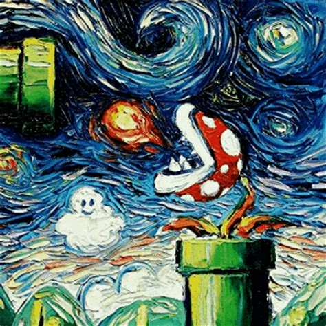 9 geeky variations of a starry night by van gogh epic van gogh starry night gif tumblr