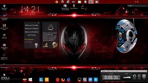 alienware themes for windows 8 1 free download red alienware themes windows 10 bing images