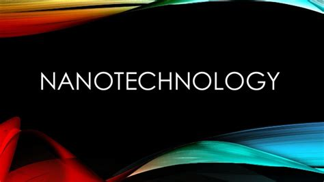ppt templates free download nanotechnology nanotechnology ppt
