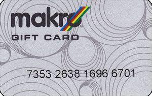 Makro Gift Card - gift card gray card with macro makro south africa makro col za makro 001