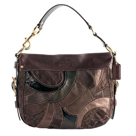 Coach Patchwork Handbags - coach mosaic patchwork zoe hobo handbag
