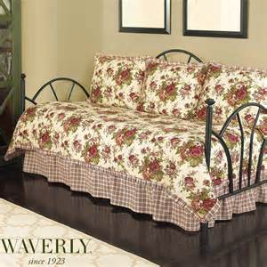 waverly bedding norfolk floral daybed bedding set by waverly