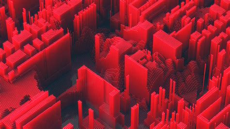 red abstract geometry hd abstract  wallpapers images