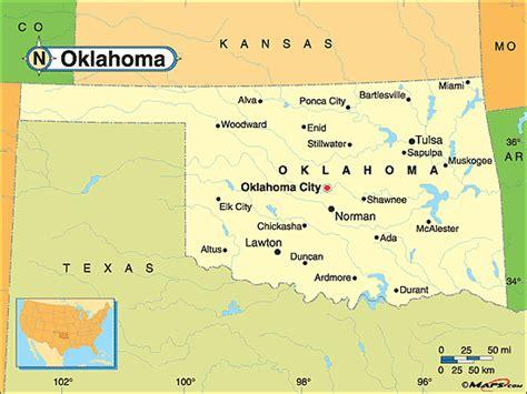 usa map with oklahoma oklahoma deaf bikers webpages