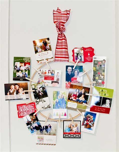 how to display christmas cards how to display christmas cards clever ideas pinterest