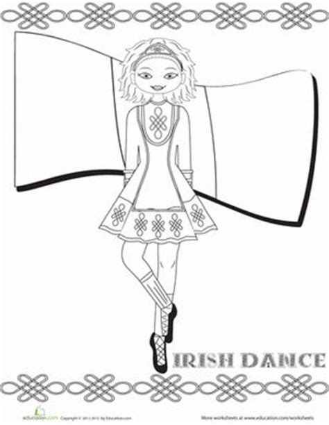 irish girl coloring page 1000 images about irish dance gone feis ing getting