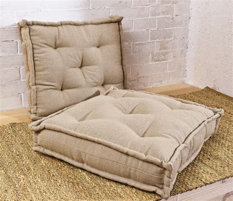 Filling For Cushions by Tufted Wool Filled Cushion Floor Cushion Chair Cushion