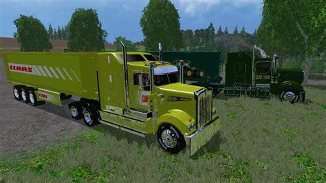 Trucker Working Class 1 claas truck and class trailer v1 0 farming simulator 2017 mods farming simulator 2015 mods