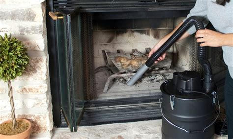 how to clean ashes from fireplace ash fireplace vacuum groupon goods
