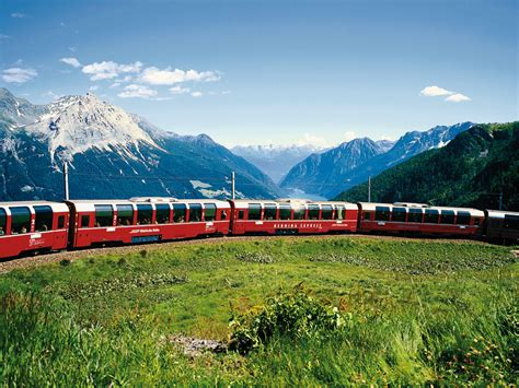 express in glacier express und bernina express spur ho
