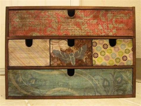 Decoupage Scrapbook Paper On Wood - the 25 best decoupage box ideas on diy
