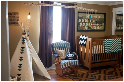 fawn over baby amazing tribal themed nursery by leslie savage photography