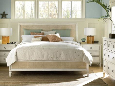 accent bedroom furniture 4 piece summer hill woven accent panel bedroom set