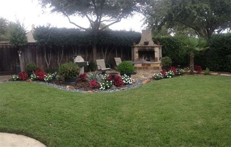 backyard creations landscaping carrollton modern landscape dallas by