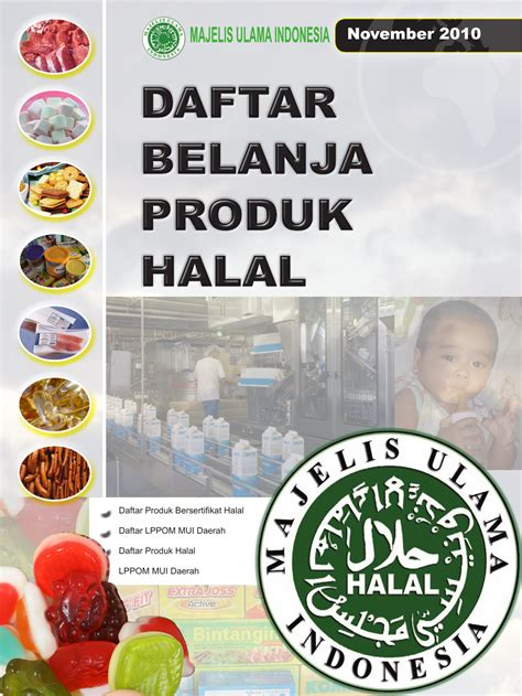 panduan belanja produk halal