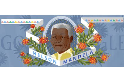 doodle nelson mandela doodle marks 96th birth anniversary of peacemaker