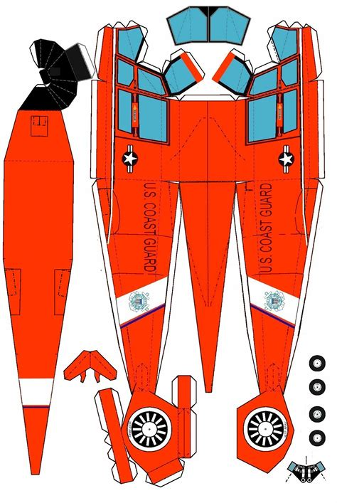 Cut Out And Make Paper Models - printable paper model helicopter don t forgot the second