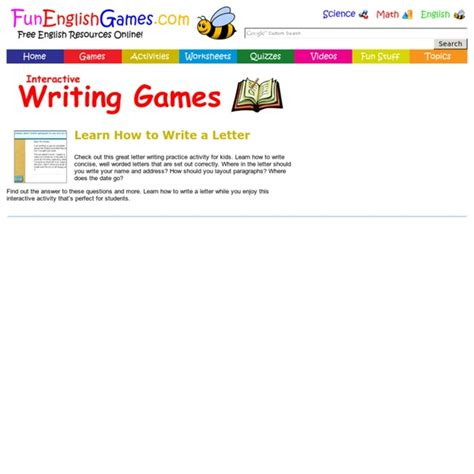 writing pearltrees letter writing practice activity for kids learn how to