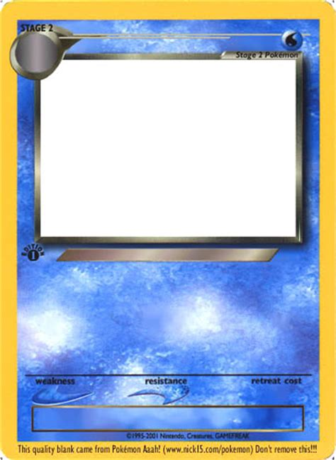water type card template blank water card www pixshark images