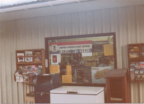 Coram Post Office coram mt post office photo picture image montana at