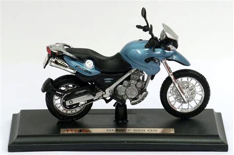 Bmw F650gs 118 Maisto miniatura moto bmw f650gs azul 1 18 r 27 90 em mercado