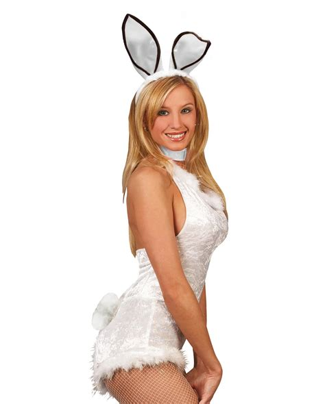hasenohren set 2pcs white bunny costume accessories