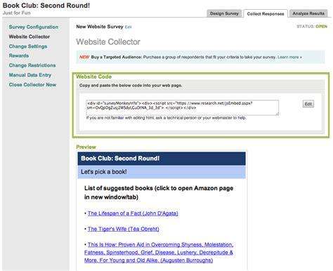 Survey Websites - how to embed your survey on a website surveymonkey blog